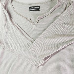 Womens Eddie Bauer Long Sleeve Shirt